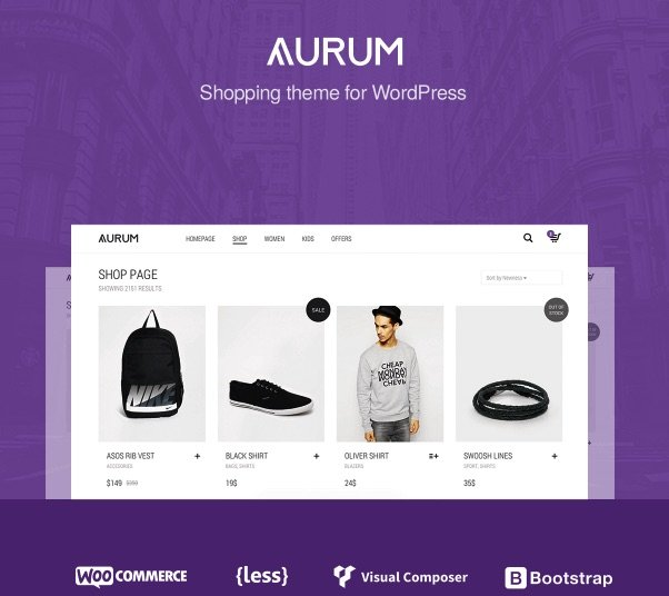 aurum wordpress