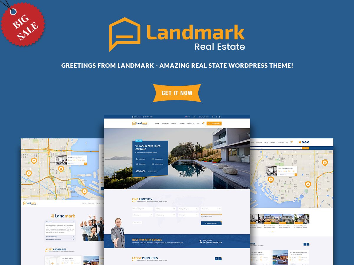landmark wordpress