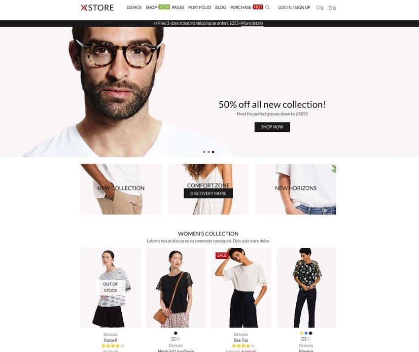 xstore wordpress e-ticaret teması