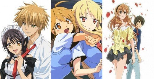 romantik animeler
