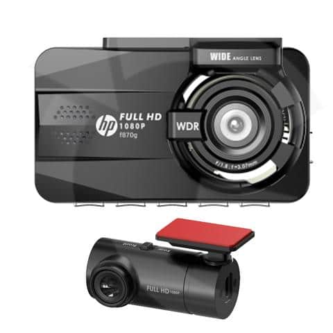 hp f870g rc3 araç içi kamerası