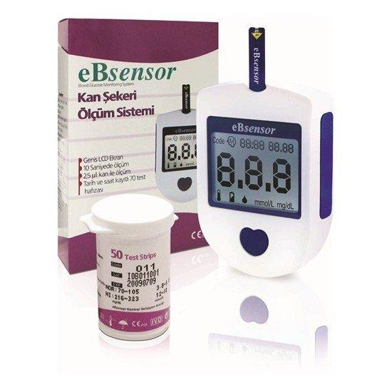 eb sensor şeker ölçüm cihazı