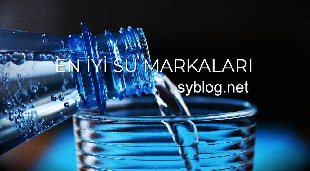 en iyi su markaları