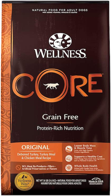wellness core köpek maması