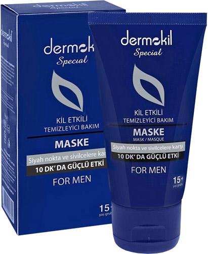 Dermokil Special Erkekler İçin Kil Etkili Maske
