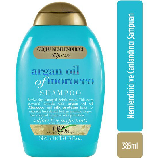 ogx argan şampuan